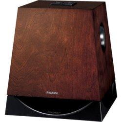 画像1: ヤマハ サブウーファー NS-SW700 (MB) 20Hz〜の再生能力 カラー:ブラウンバーチ